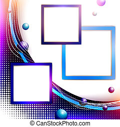 Abstract frame background