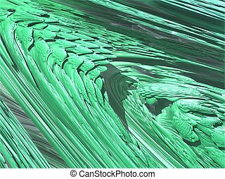 computer generated 3D abstract background