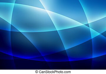 Soft Blue Lines Background