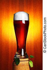 cerveza, salto