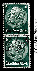 GERMANY REICH - CIRCA 1933: A stamp printed in Germany shows...