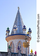 Foco Tonal Tower and Turrets - Foco Tonal castle tower with...