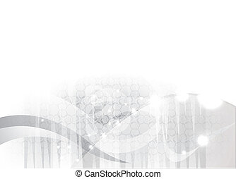 abstract gray background with a beautiful light effect