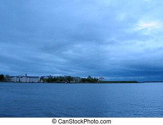 Kingston Lake Ontario evening 2008