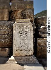 The Caduceus, universal symbol of medicine - This photograph...