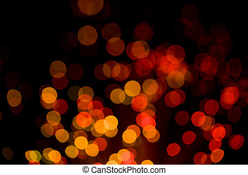 abstract holiday lights background