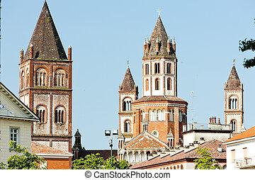 Basilica di SantAndrea, Vercelli, Piedmont, Italy