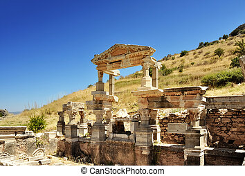 Ephesus Turkey - This photograph represent beautiful...