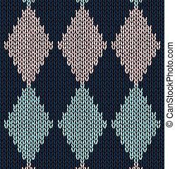 Style seamless pattern