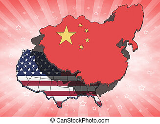 China Overshadowing USA - China dominating and overshadowing...