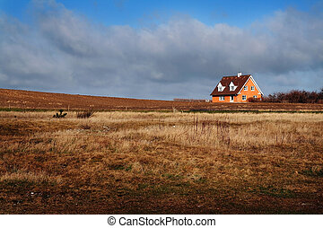 farm house home Denmark - Farm house in Denmark. Home in the...