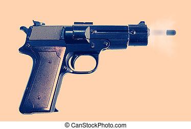 gunshot pistol protection - gun or pistol evidence of a...