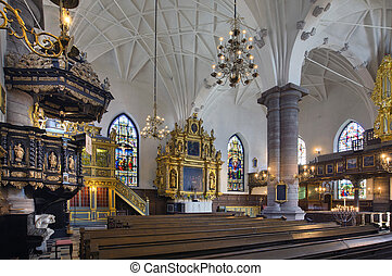 German church, Stockholm