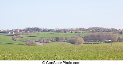 Countryside View - Photo of the countryside around Wentworth...