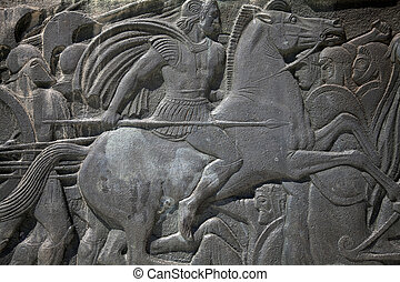 Relief of Alexander the Great