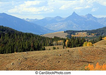 Autumn Colors, Montana - The colors and views in the...