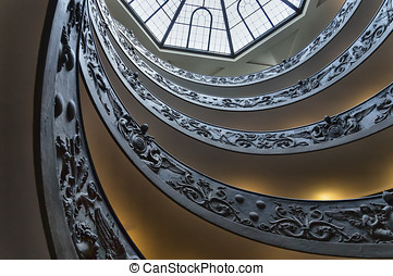 Stairs at the Vatican M