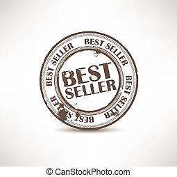 Grunge rubber stamp. Best seller