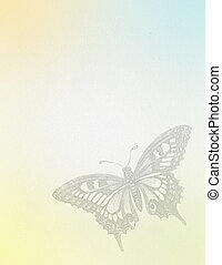 Butterfly Grunge Background