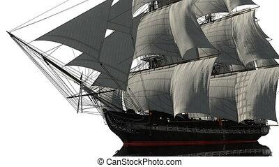 Sailing boat - image of sailing boat