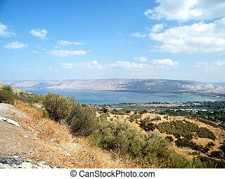 Galilee South shore of Lake Kinneret - South shore of Lake...