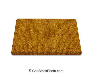 welcome doormat - Brown welcome carpet, welcome doormat...
