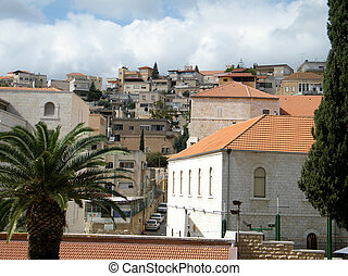 Nazareth Houses on the hillside 2010 - Houses on the...