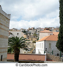 Nazareth view from Basilica 2010 - View to Houses on the...