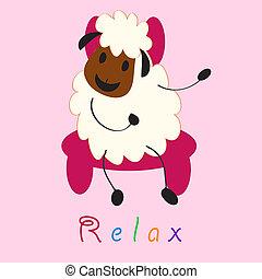 Doodle sheep set  - Doodle sheep set