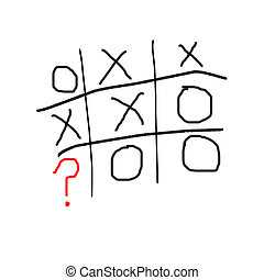 tic tac toe question - who wins the last move in tic tac...