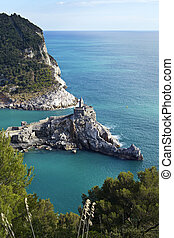 Portovenere and Palmaria island - Portoveneres church of San...