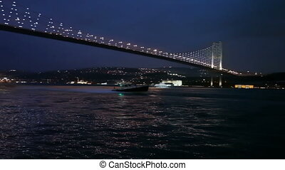 Bosphorus Bridge 5 HD 1080p - Bosphorus Bridge Night Scene