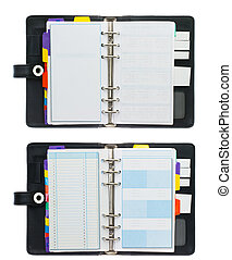 Organizer Book - High Resolution Set of Organizer Book