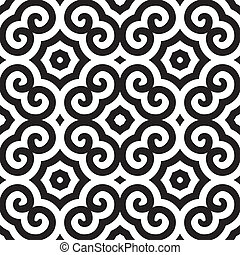 abstract ethnic vector seamless background. Colorful vector...