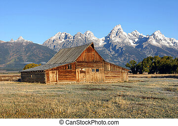 Mormon Barn Grand Tetons