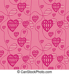 Lace seamless pattern with hearts - Lace seamless pattern...