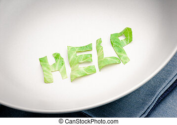 anorexia - written help on dish