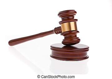 gavel - auction hammer - a judge or auction hammer hammer....