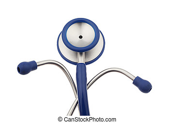 a doctors stethoscope - the stethoscope is a doctor on a...