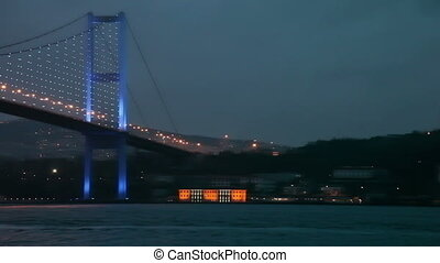 Bosphorus Bridge 4 HD 1080p - Bosphorus Bridge Night Scene