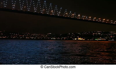 Bosphorus Bridge 2 HD 1080p - Bosphorus Bridge Night Scene