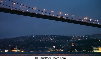 Bosphorus Bridge HD 1080p - Bosphorus Bridge Night Scene