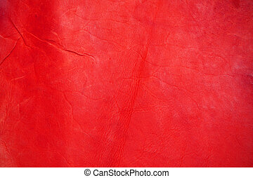texture of red leather for background