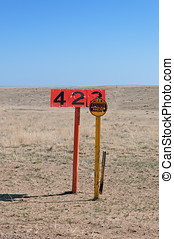 Pipeline Warning Sign and Marker - Oil pipeline marker and...