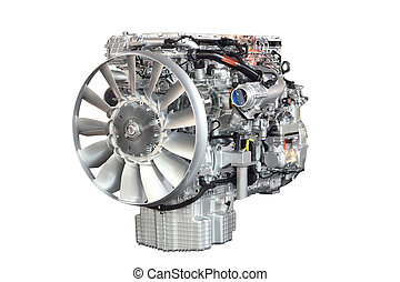 heavy truck engine