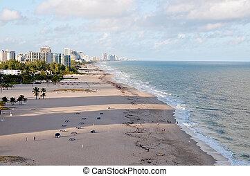 Miami Beach - View of Miami Beach