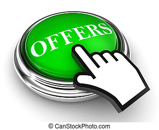 offers green button and pointer hand