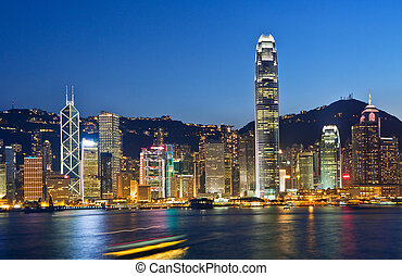 Hong Kong modern city