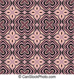 abstract ethnic vector seamless background Vector...