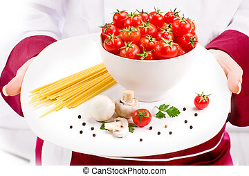 Chef Ingredients for Italian Pasta